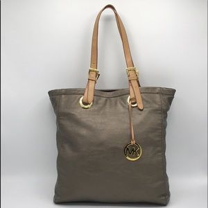 Michael Kors Zip Closure Tote Bag